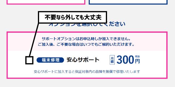 カシモWiMAX新規申込